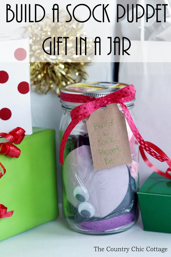 Build a sock puppet gift idea the country chic cottage Country christmas gifts to make