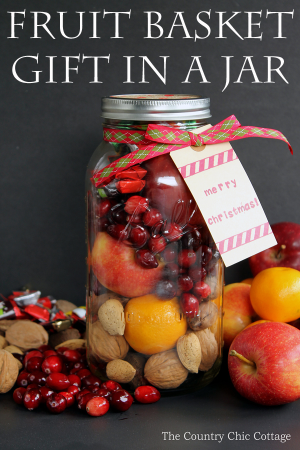 fruit basket in a jar the country chic cottage