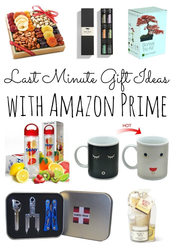 Last Minute Gift Ideas With Amazon Prime The Country Chic Cottage