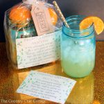 Make this mocktail gift in a jar for any occasion! A fun gift with a free printable recipe to include!