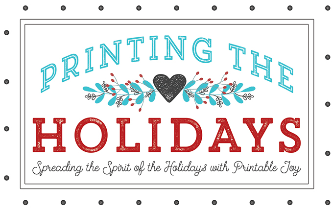 Printing the Holidays Blog Hop