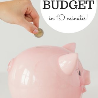 Learn how to create a budget in 10 minutes plus get access to free budget software!
