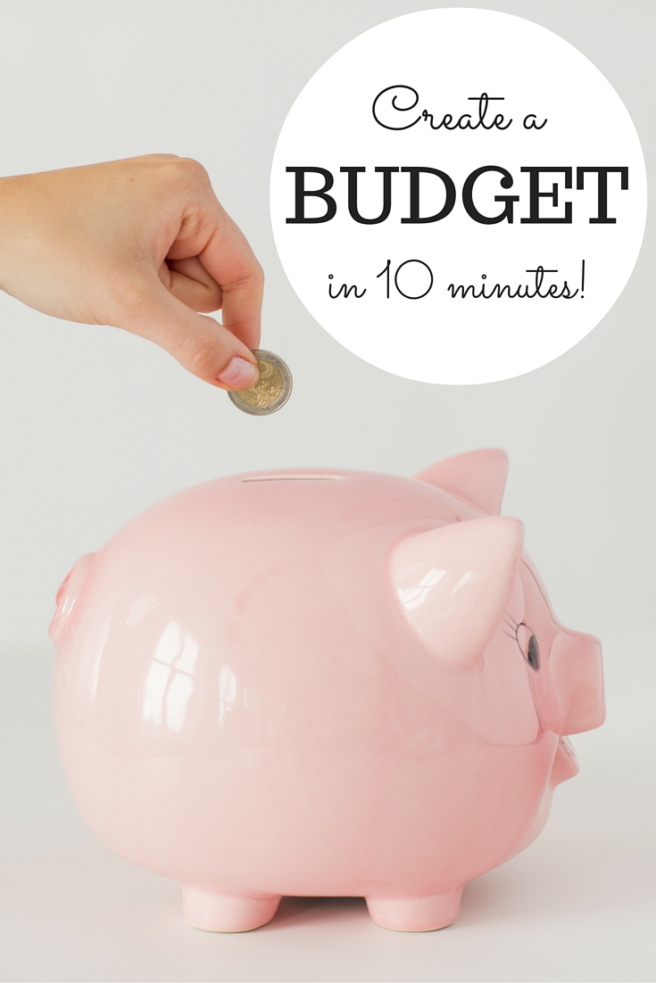 Learn how to create a home budget in 10 minutes plus get access to free budget software!