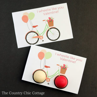 Make this EOS lip balm Valentine's Day card for your sweetheart in just minutes! The card is a free printable so get yours today!