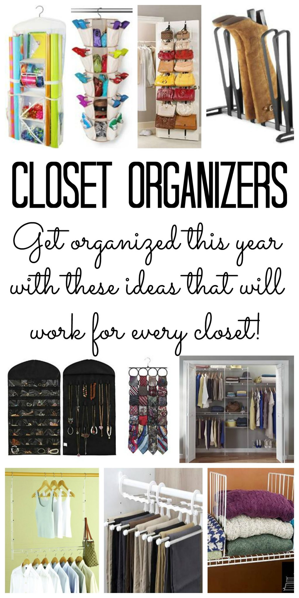 Charmant You Will Love These Closet Organizers For Your Home! Kick Your Closet  Organization Into High