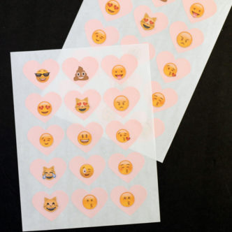 Emoji Treat Bags