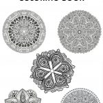 Free mandala coloring pages for signing up for this newsletter!