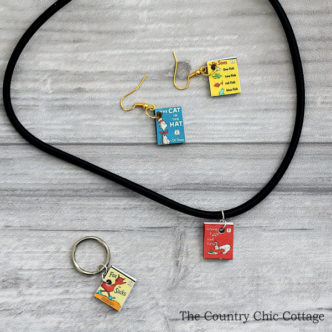 Mini Seuss Book Jewelry
