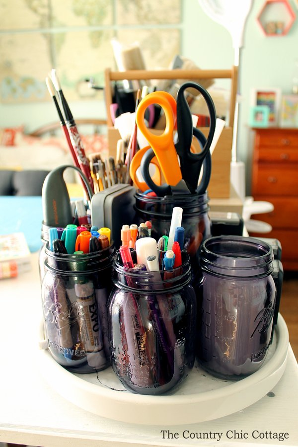 Tour this organized craft room and several others as part of a craft room tours series! If you have a craft studio, this post is for you!