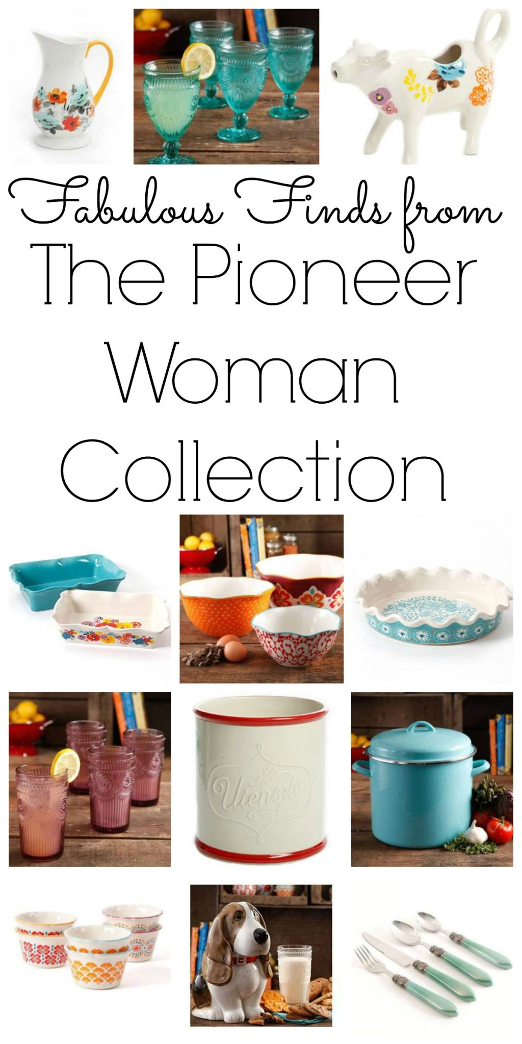 Pick up these Pioneer Woman kitchen essentials from her product line! I love this line and want it ALL!!