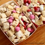 This Valentine's Day muddy buddies recipe is perfect to enjoy during the holiday and it is easy to make as well!