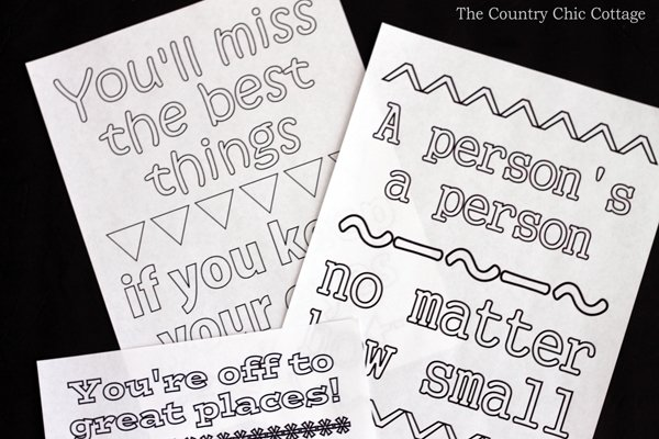 Free Dr Seuss Coloring Pages The Country Chic Cottage