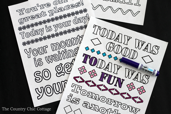 Print These Free Dr Seuss Coloring Pages Quotes From Himself On Fun
