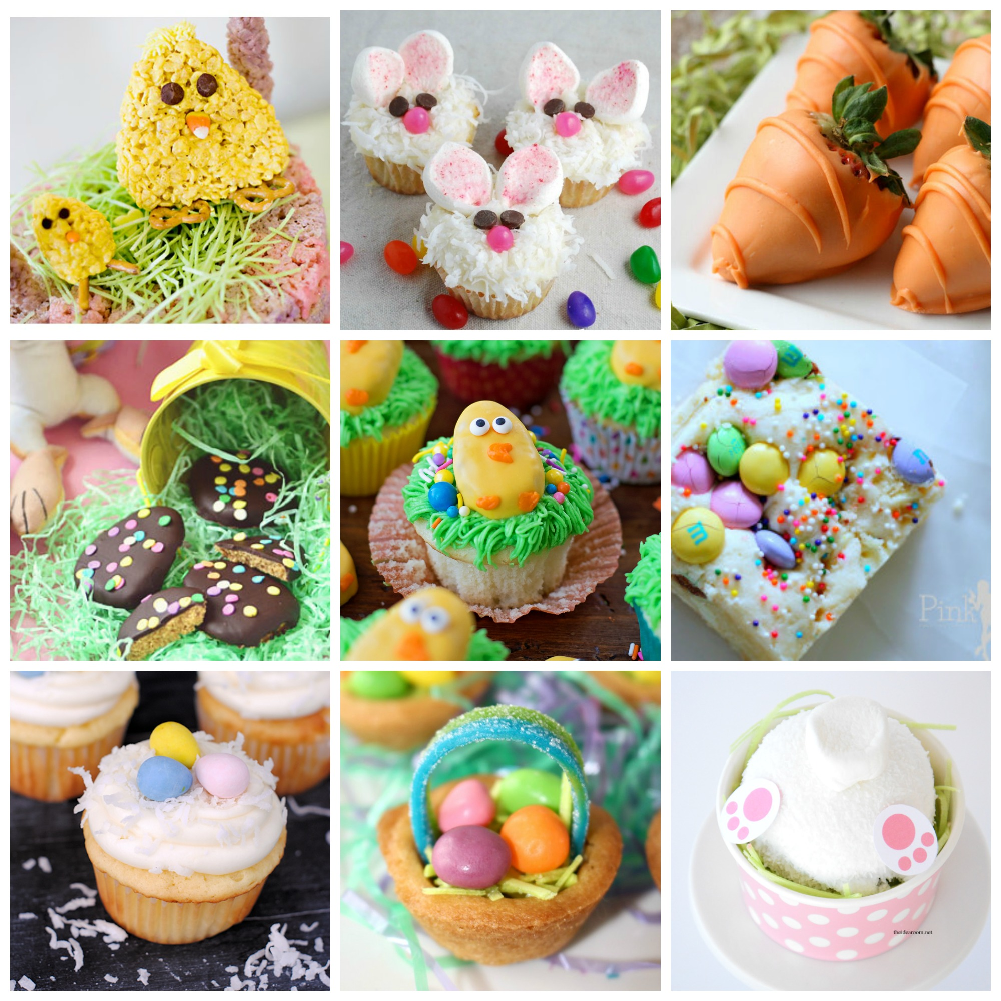 Make these Easter desserts to top off your meal this holiday! Great ideas that are simple to make!