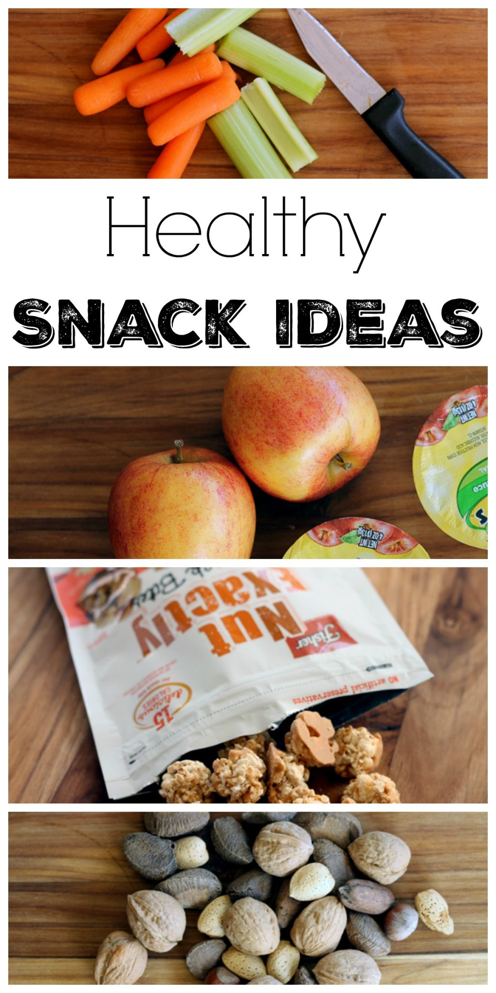 You will love these healthy snack ideas for your family! Get ideas for kids and adults in one place!