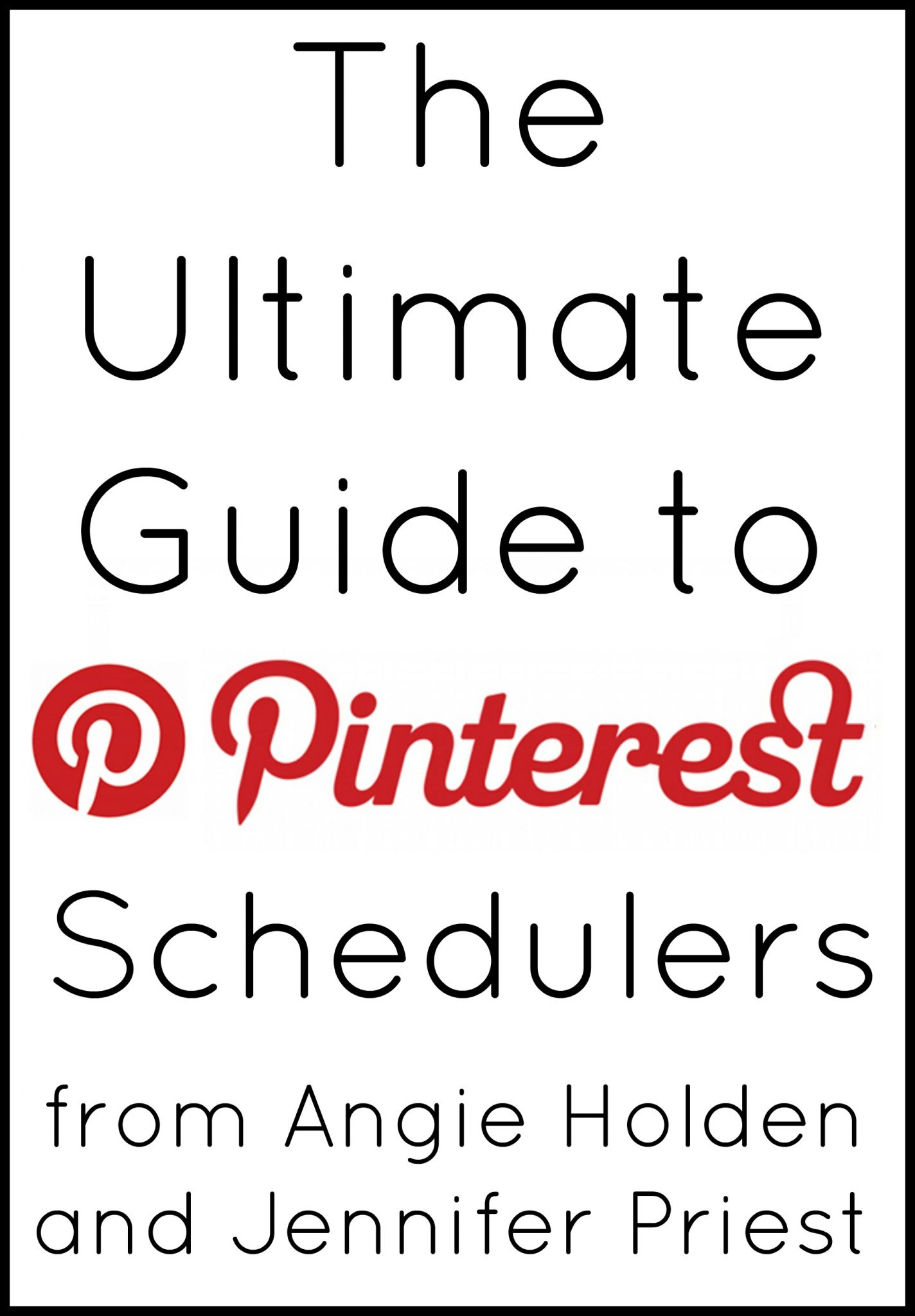 The ultimate guide to Pinterest schedulers - everything you need to know to use the top schedulers out there! This post is perfect for bloggers!