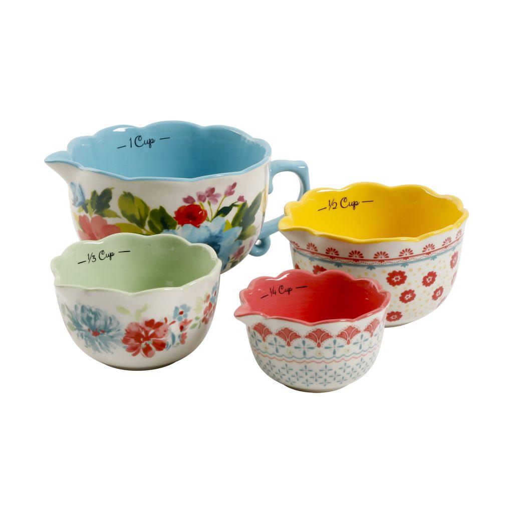 pioneer woman measuring bowls