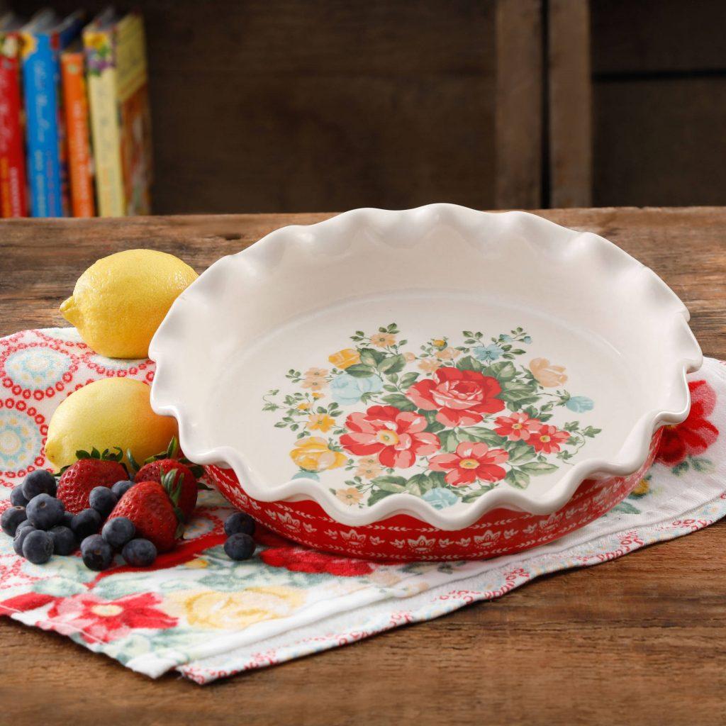 pioneer woman pie dish
