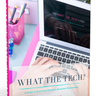 Learn the technology side of blogging with this great new ebook!