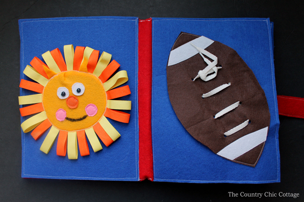 Learn about assembling a busy book for your baby or toddler! A quiet book makes a great book and this post will walk you step by step through creating your own version!
