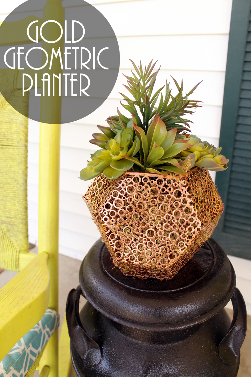 Make a planter from a candle holder in just minutes!