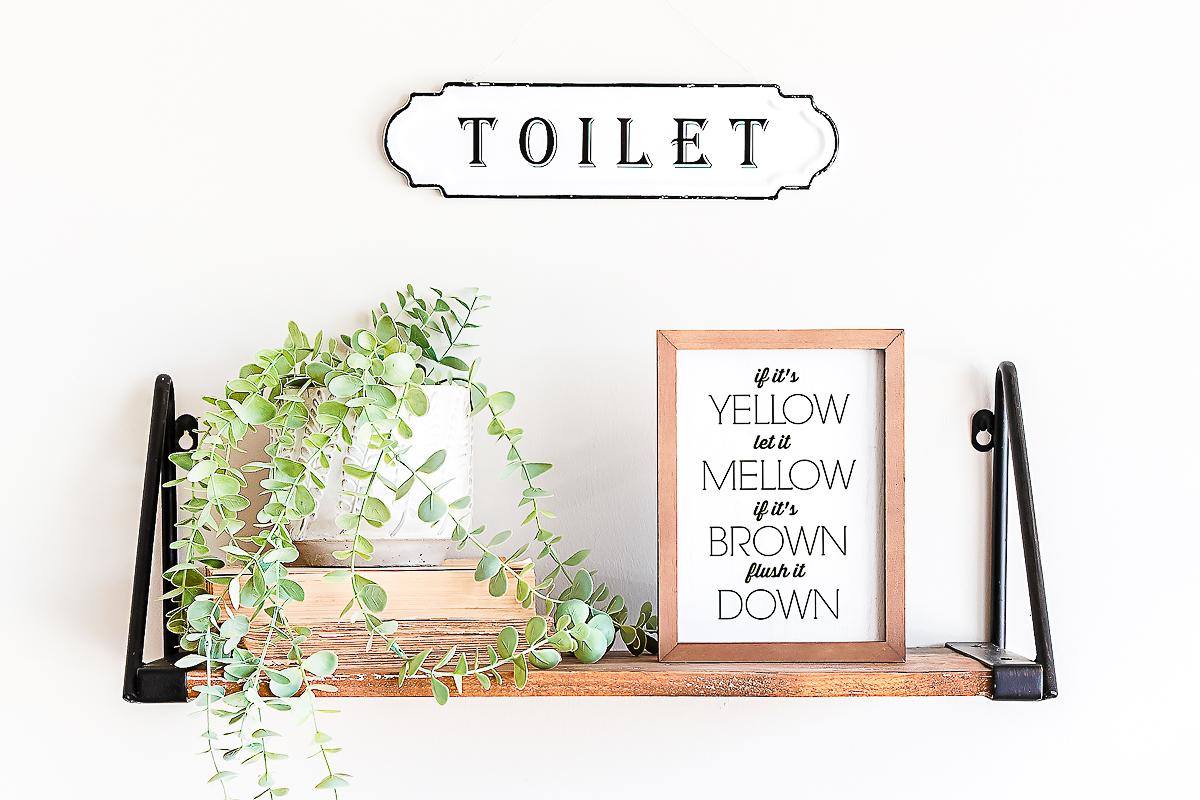 printable bathroom art