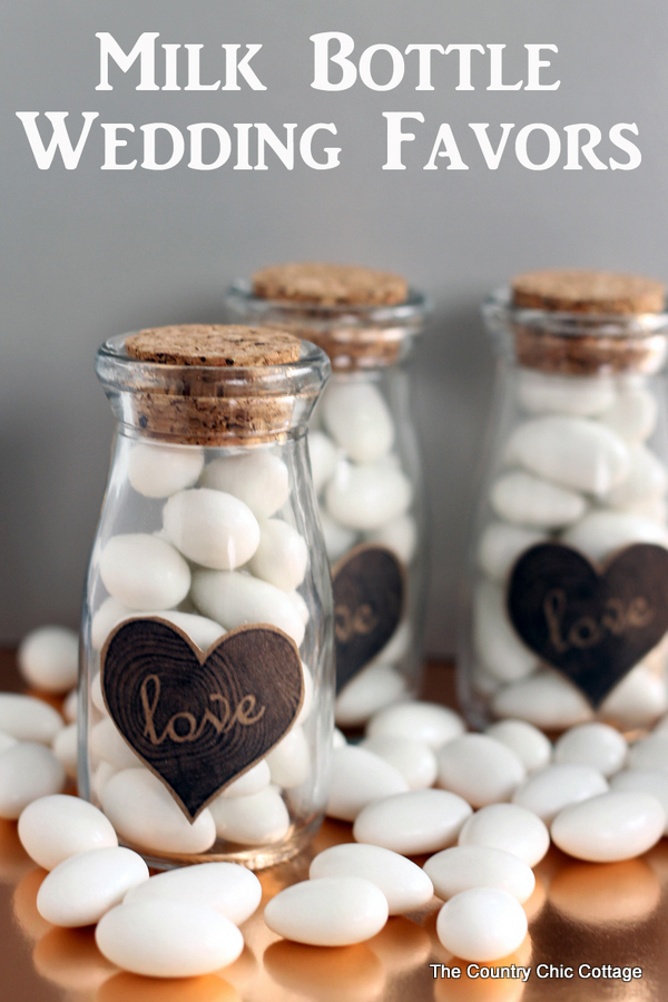 Diy Wedding Favors The Country Chic Cottage