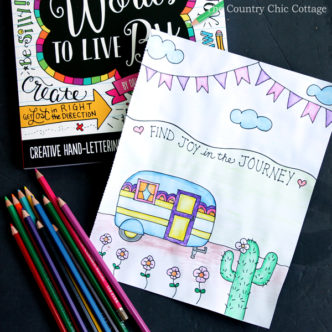 Learn how to use watercolor pencils for your adult coloring projects. They are so easy to use and you will get great results with these techniques!