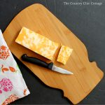 See how to make this mason jar cutting board in just minutes! Makes a great gift or addition to your kitchen!