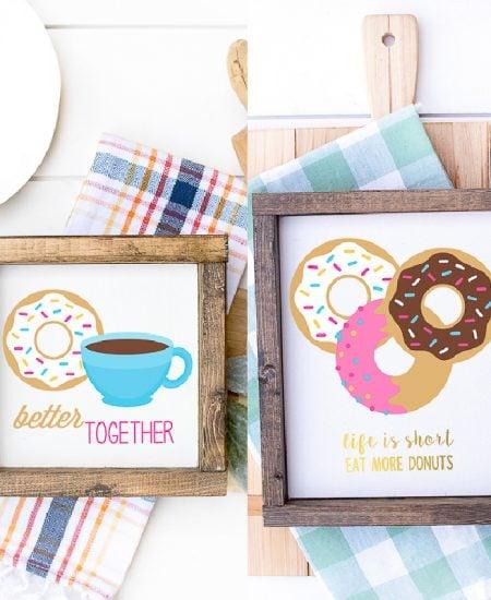 donut printable art