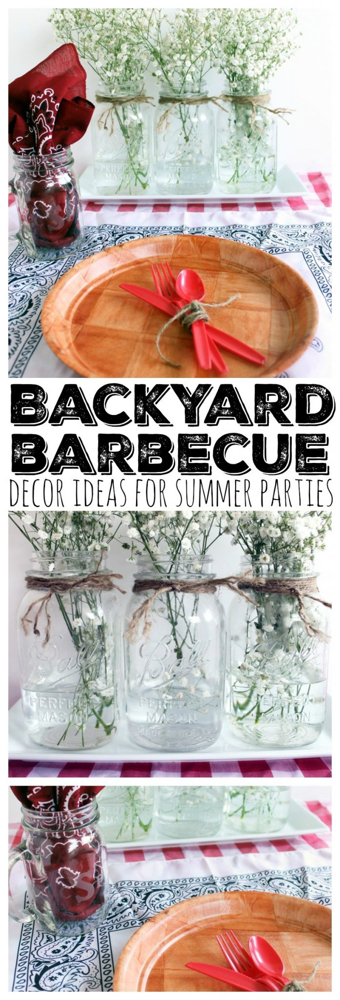 Get ideas for backyard parties! Great ideas for decor!