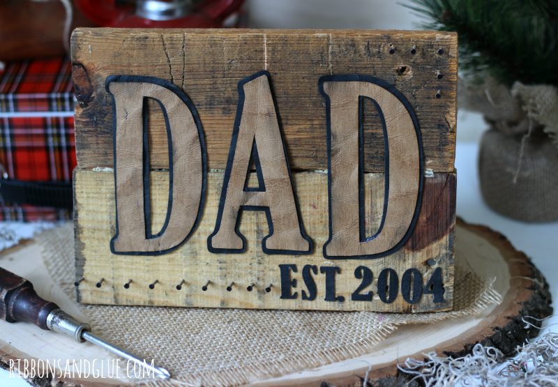 Father's Day gift ideas that take 15 minutes or less to make!