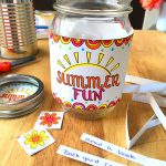 Create a jar for summer fun ideas - so easy!