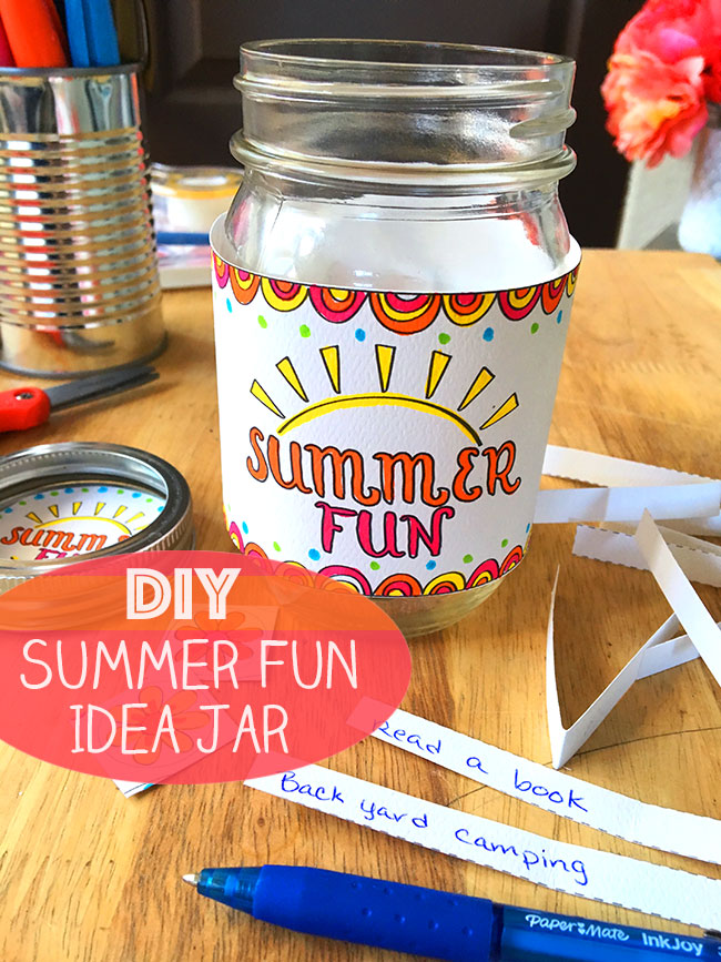 DIY Summer Fun Idea Jar