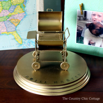 Father's Day Gift – DIY Grill Trophy