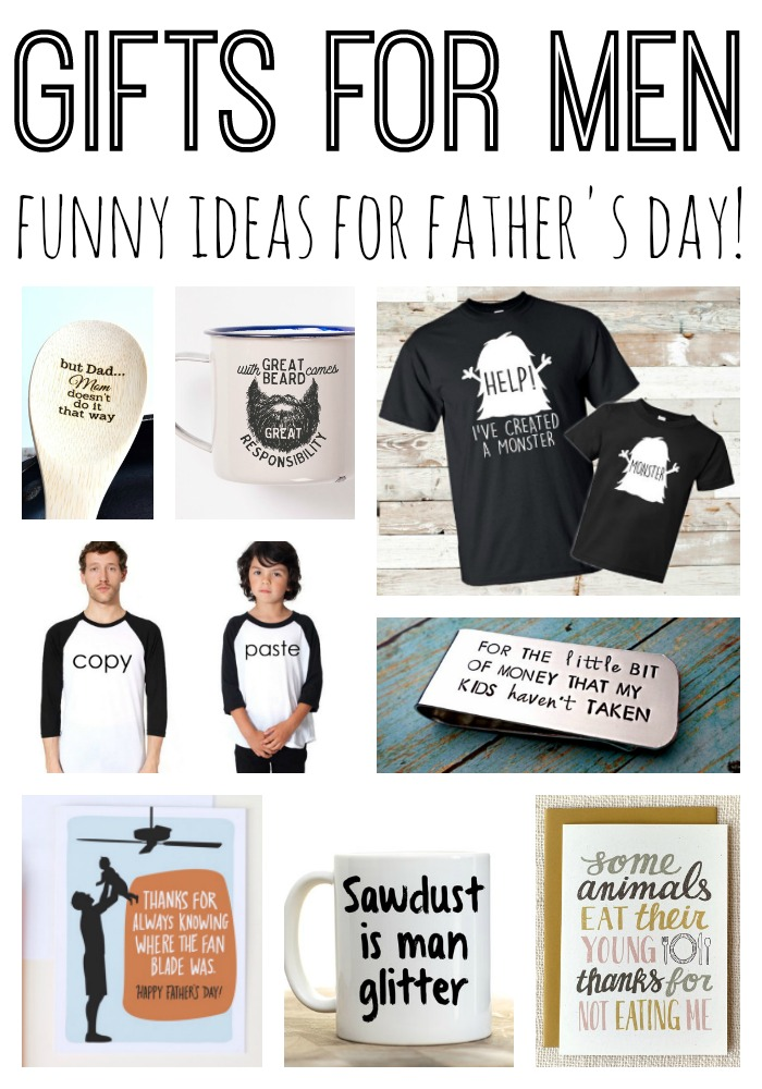 Gifts for men - funny ideas for Father's Day that Dad will love!