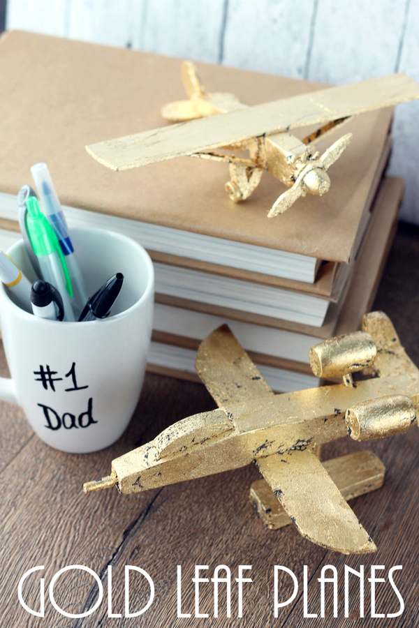 These Gold Leaf Planes With Make A Perfect Fathers Day Gift Idea Great For Dads