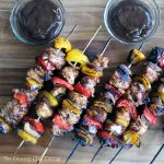 Make this sweet honey chicken kabobs recipe for your family this summer! A great twist on a classic for the grill!