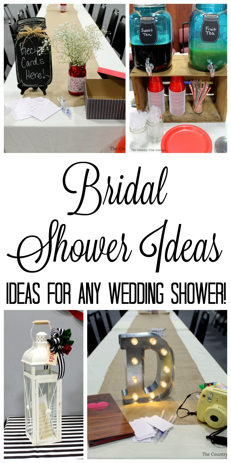fun bridal shower ideas that are perfect for the party that you are throwing for the