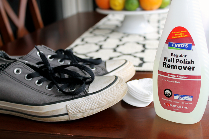 Hands down the best way to clean your shoes! They'll look like new! I bet you even have this product in your bathroom cabinet already!