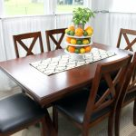 An addition of a farmhouse table makes a great statement in any home!