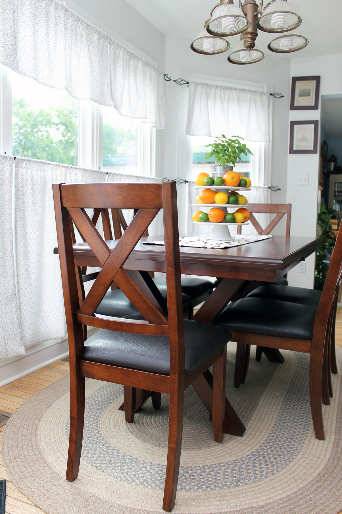 Beautiful An addition of a farmhouse table makes a great statement in any home