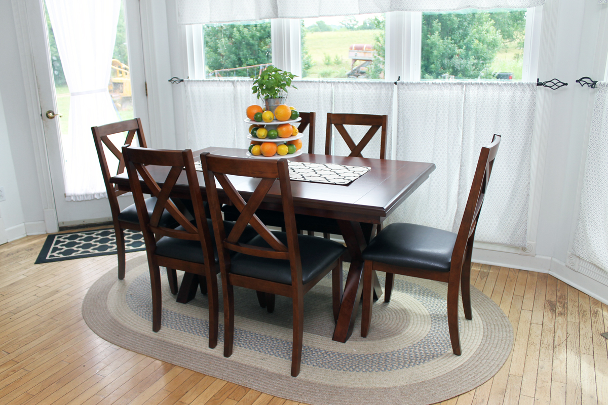 Stunning An addition of a farmhouse table makes a great statement in any home