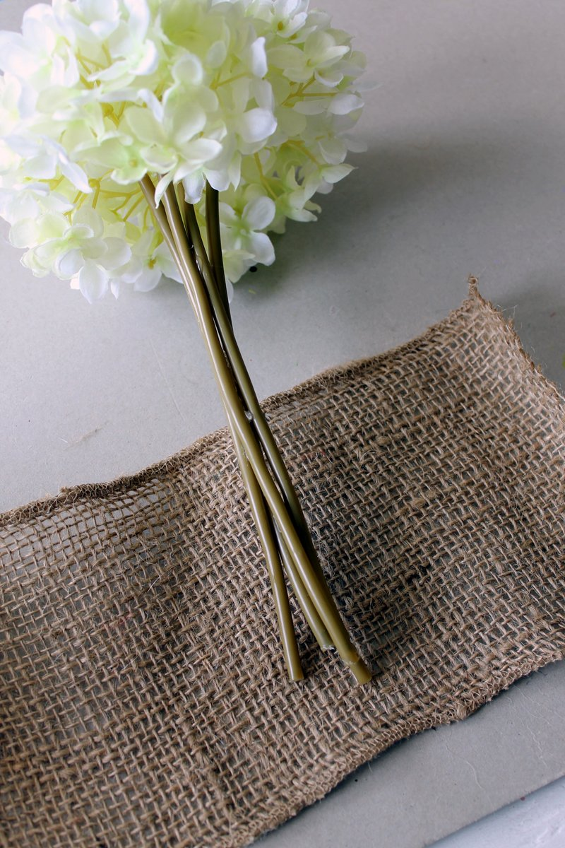 Learn how to make a wedding bouquet with a few simple items! A quick and easy project for your DIY wedding!