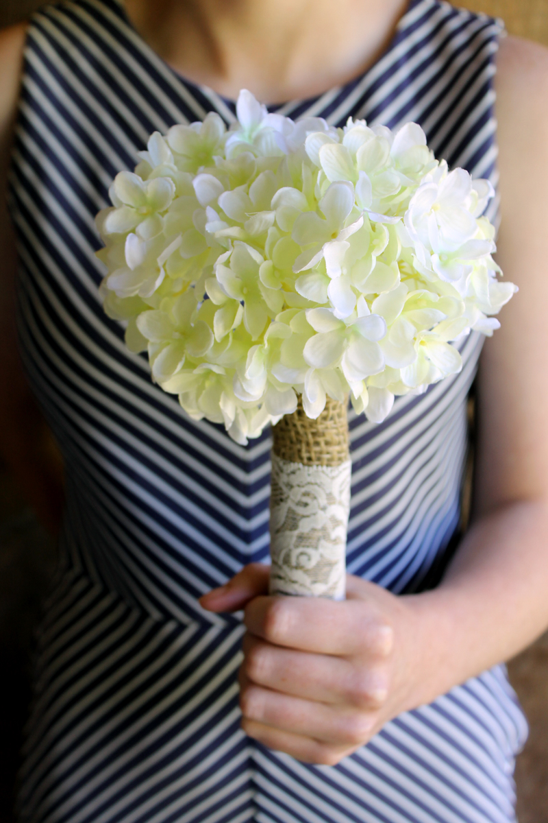 how to make a simple bouquet