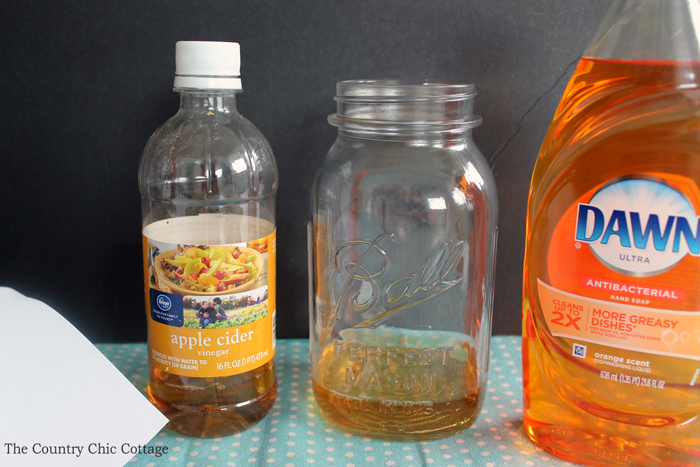 Mason Jar Fruit Fly Trap - The Country Chic Cottage