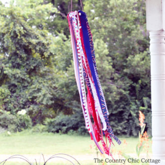Patriotic Windsock Kids Craft Idea