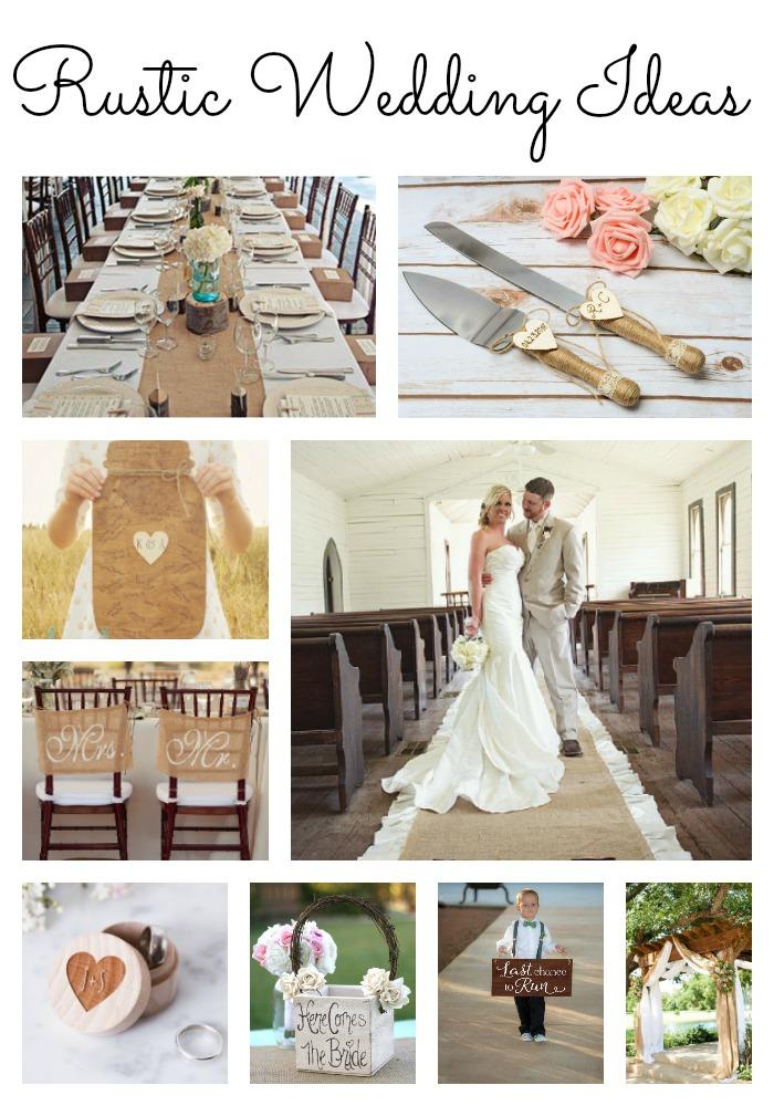 Great rustic wedding ideas perfect for your farmhouse barn wedding!