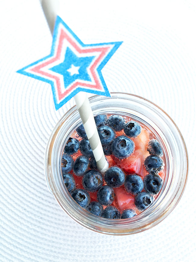 Cute patriotic straws you can make yourself