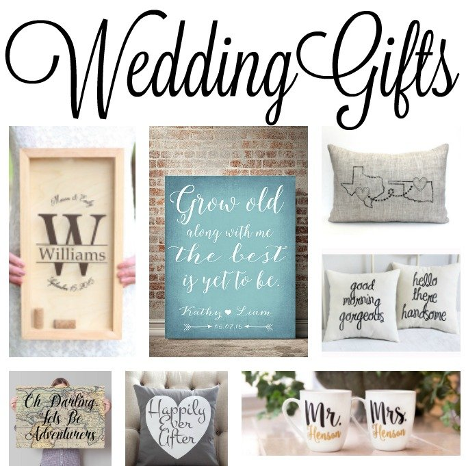 great wedding gift ideas for the bride and groom perfect for bridal showers as well - Wedding Gift Ideas